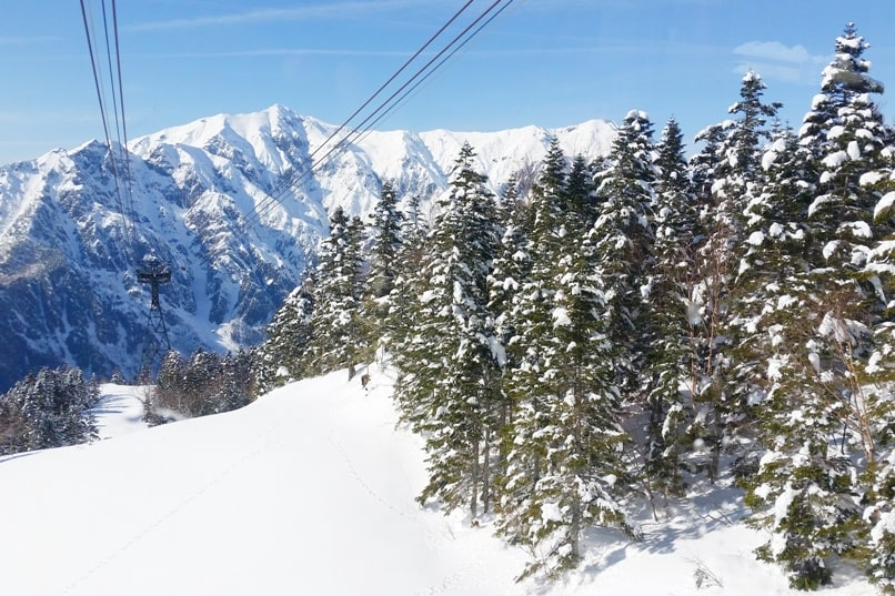 Is Shinhotaka ropeway in winter worth it in cloudy weather or bad weather, or only sunny good weather? Day trip from Takayama. Best things to do in Japanese alps. Backpacking Japan winter travel blog