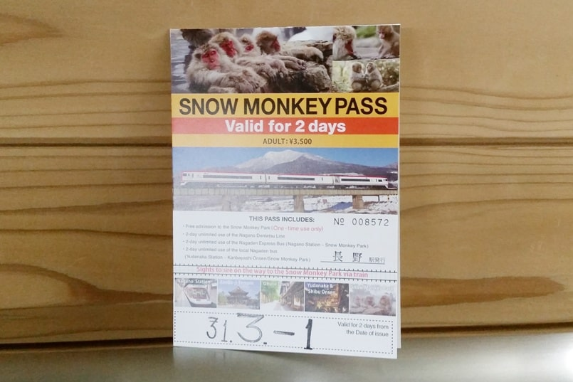 2-day snow monkey pass for Nagano winter itinerary. best things to do in Nagano. best places to visit in Nagano. Backpacking Japan travel blog
