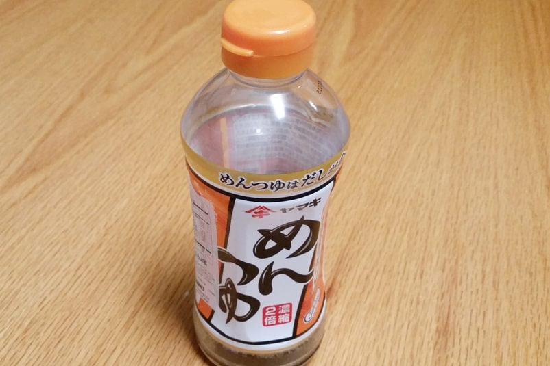 Soba buckwheat noodles with tsuyu, make cheap food in Japan. Backpacking Japan travel blog