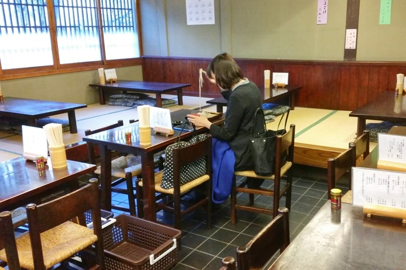 Soba. Common cheap food in Japan. best soba restaurants in Nagano near zenkoji temple. Backpacking Japan travel blog