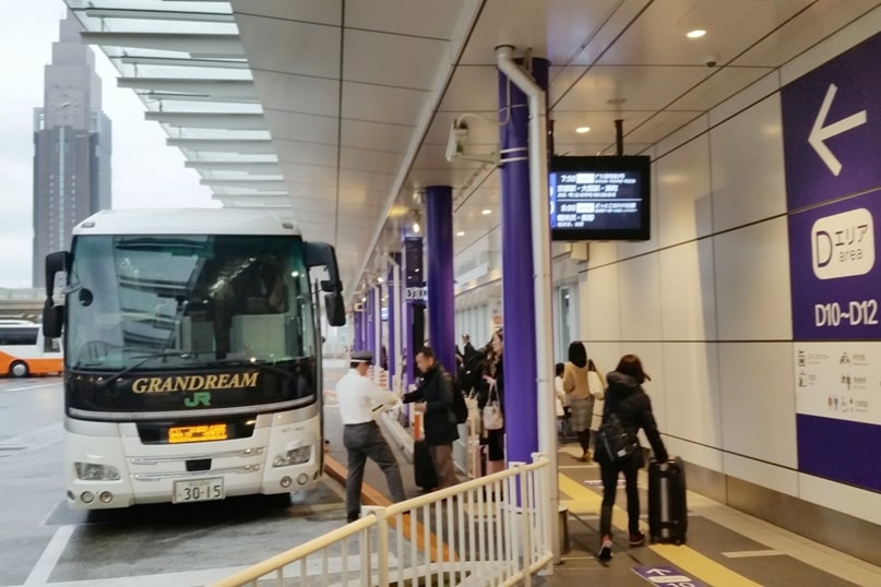 Tokyo to Kyoto bus. departure timing from Shinjuku. Backpacking Japan travel blog