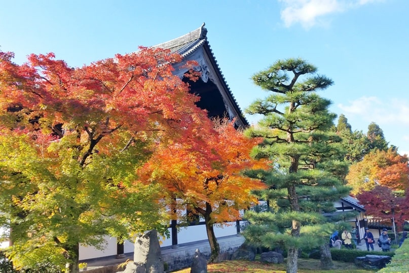 Autumn in Kyoto Japan. best places to visit for photo spots. peak season for fall foliage colors. what months is season. crowds. October, November, December. koyo momiji photos spots. red orange yellow. Kyoto Japan travel blog